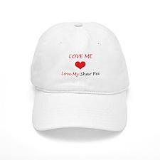 Love Me Love My Shar Pei Baseball Cap