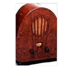 Bakelite radio Postcards (Package of 8)