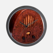 Bakelite radio Wall Clock