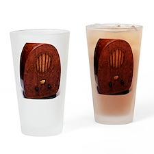 Bakelite radio Drinking Glass