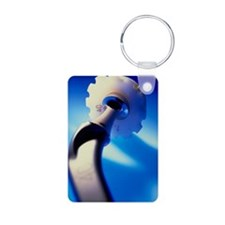 Artificial hip joint Keychains
