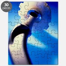 Artificial hip joint Puzzle