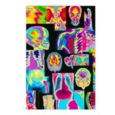 Assortment of coloured X- Postcards (Package of 8)