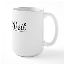 Bridal Veil, Vintage Mug