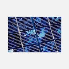 Solar cells Rectangle Magnet