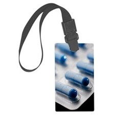 Antibiotic pills Luggage Tag