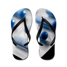 Antibiotic pills Flip Flops