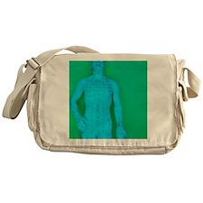 Acupuncture model Messenger Bag