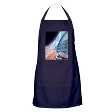 Eye anatomy, artwork Apron (dark)