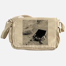 Sojourner on the surface of Mars Messenger Bag