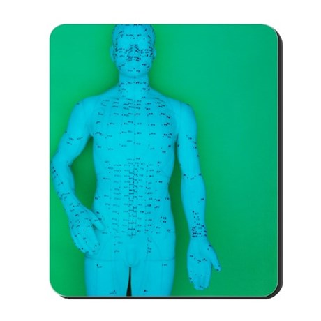 Acupuncture model Mousepad