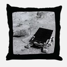 Sojourner on the surface of Mars Throw Pillow