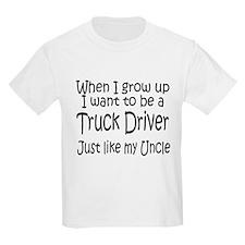 WIGU Trucker Uncle Kids T-Shirt