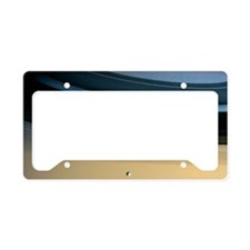 Dione and ring shadows on Sat License Plate Holder