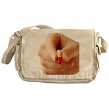 Antibiotic capsule Messenger Bag