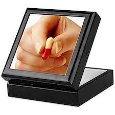 Antibiotic capsule Keepsake Box