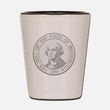 Washington State Coin Shot Glass