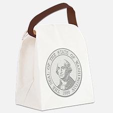 Washington State Coin Canvas Lunch Bag
