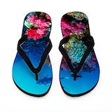 Soft coral Flip Flops