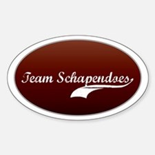 Team Schapendoes Oval Decal