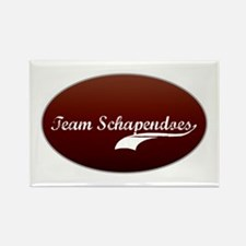 Team Schapendoes Rectangle Magnet (100 pack)