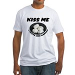 Kiss Me Garlic Fitted T-Shirt