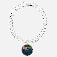 Swagger - Roseate Spoonb Bracelet
