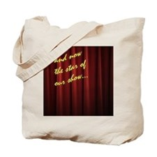 Star Curtain Tote Bag