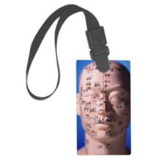 Acupuncture chart Luggage Tag