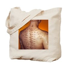 Acupuncture model Tote Bag