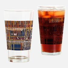 Heathkit computer wires Drinking Glass