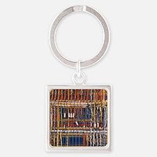 Heathkit computer wires Square Keychain