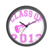 Class Of 2013 Rocks Wall Clock