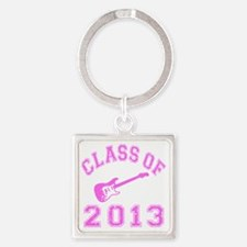 Class Of 2013 Rocks Square Keychain