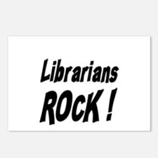 Librarians Rock ! Postcards (Package of 8)