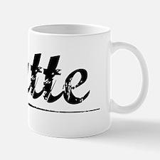 Butte, Vintage Mug