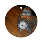 LUCKY DOG ORNAMENT (ROUND)