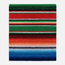 Mexican Sarape Throw Blanket