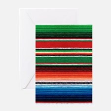 Mexican Sarape Greeting Card