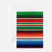 Mexican Sarape Greeting Card