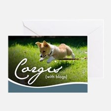 3rd Annual Corgis (with blogs) Calen Greeting Card