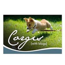 3rd Annual Corgis (with b Postcards (Package of 8)