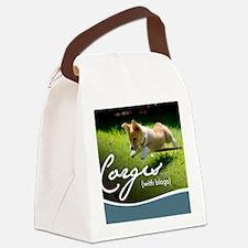 3rd Annual Corgis (with blogs) Ca Canvas Lunch Bag