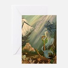 Mysterious Fathoms Greeting Card