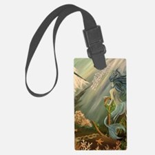 Mysterious Fathoms Luggage Tag