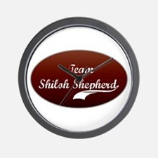 Team Shiloh Wall Clock