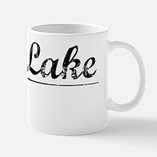 Burt Lake, Vintage Mug