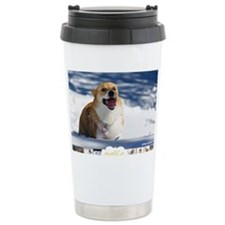 Mollie Corgi Travel Mug