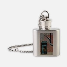 Downspouts and Window Flask Necklace
