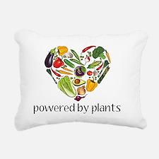 Vegetable Heart Rectangular Canvas Pillow